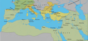 Expansion of the Early Islamic Caliphate, ca. 750